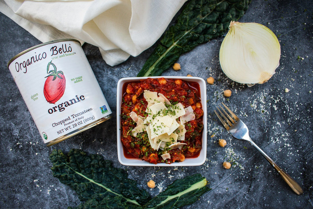 Vegetarian Chickpea Arrabiata