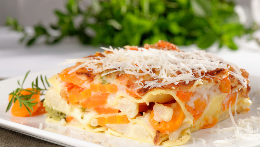 Sweet Potato and Carrot Lasagna