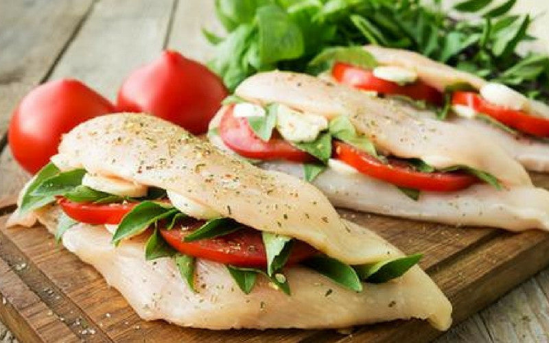 Bruschetta-Stuffed Chicken Breasts