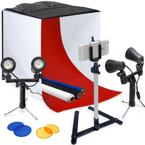 Table Top Photo Light Tent Kit, 24