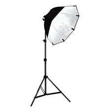 Photography Video Studio Continuous Softbox Lighting Light Kit with Photo CFL 105W Bulb