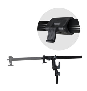 Swivel Head Reflector Support Holder Arm, Boom Stand Arm Bar, Light Stand Tripod with 43 Inch Diameter 5 Color in 1 Round Collapsible Reflector Disc Panel, Hand Held