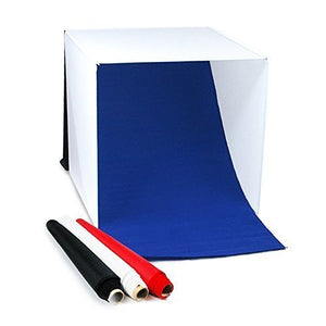 Folding Photo Box Tent LED Light Table Top