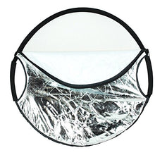 "22"" New Handheld 5-in-1 Collapsible Lighting Reflector Board Disc"