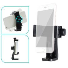 LS Photography Angle Adjustable 360 Degrees Smart Phone Holder and Mounting Adapter, Universal Cell Phone Tripod Adapte, LGG611_V2