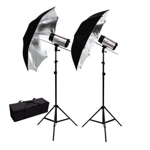 600W Flash/Strobe Lighting Kit w/ 40