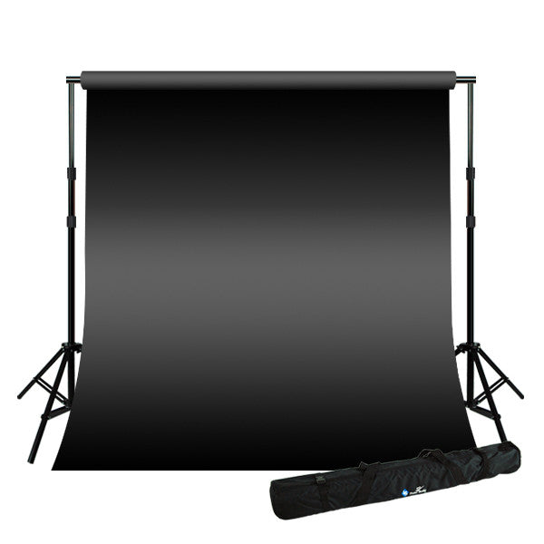 10 x 16 ft Backdrop w/ 8.5 x 10 ft Background Stand