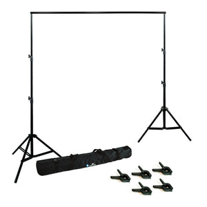 Backdrop Support System Stand w/ Clamps
