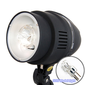 180W Photography Studio Monohead Strobe Flash Light