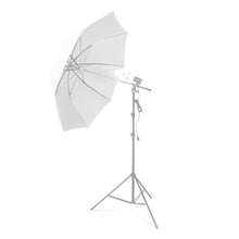"LS Photography 33"" White Transparent Umbrella Reflector, Photo Video Studio Umbrella, SRE1207"