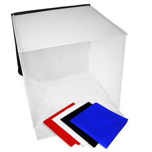"25"" Table Top Photo Studio Light Tent Kit"