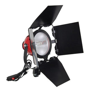 800W Studio Light Adapter w/ Barn Door
