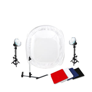 Portable Studio Lighting w/ Studio Light Tent Kit