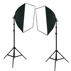 2pcs of Photography Equipment Light SoftBox Kit