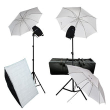 "33"" Umbrella Softbox Flash Strobe Light Kit"