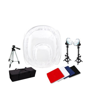 "12"" and 30"" Photo Studio Light Tent Kit"