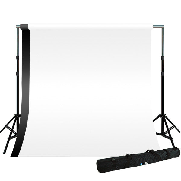 Black & White Backdrops Photo Background Support System