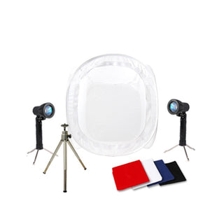 "12"" Table Top Photo Studio Light Tent Kit"