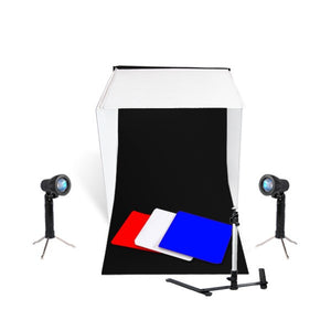 "16"" Table Top Photo Studio Light Tent Kit"