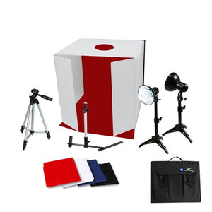 "16"" Table Top Photo Studio Light Tent Kit w/ Tripod"
