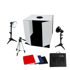 "25"" Table Top Photo Studio Light Tent Kit w/ Tripod"