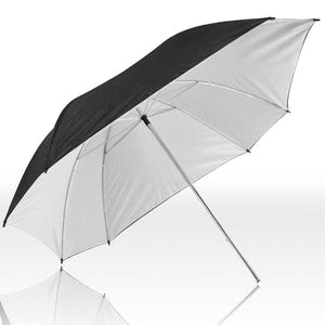 "52"" White Translucent Umbrella"