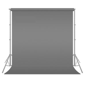 Grey Chromakey Fabric Backdrop Background Screen