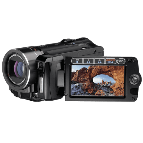 Canon VIXIA HF10 Flash Memory High Definition Camcorder with 16 GB Internal Flash Memory and 12x Optical Image Stabilized Zoom