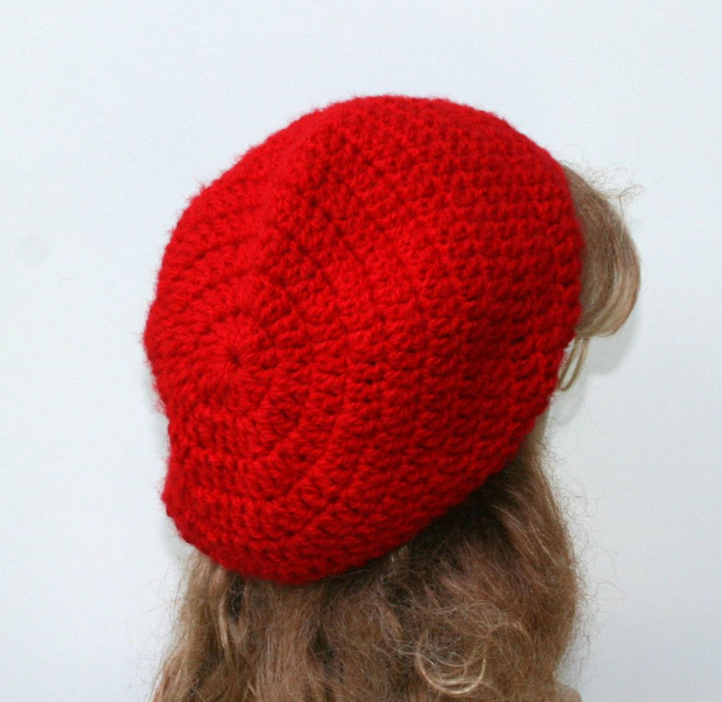 True Red Slouchy beanie Hat 08e1600fdc1