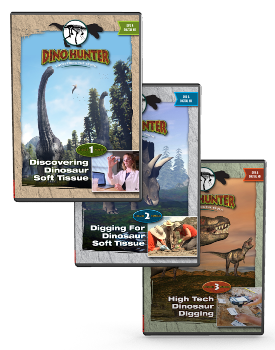 Dino Hunter DVD set
