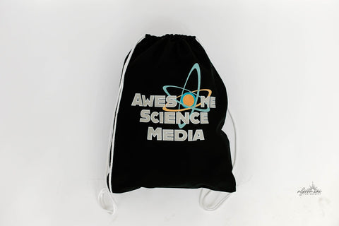 Awesome Science Media Drawstring Bag