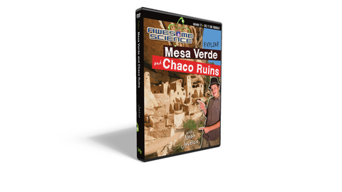 "Awesome Science Ep12 ""Explore Mesa Verda/Chaco Ruins"" DVD"