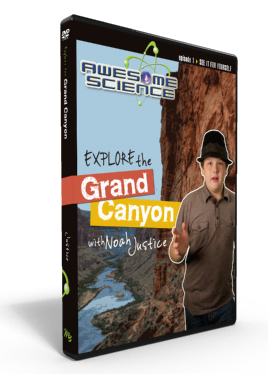 "Awesome Science Ep1 ""Explore the Grand Canyon"" DVD"