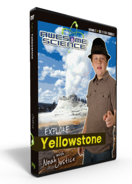 "Awesome Science Ep2 ""Explore Yellowstone"" DVD"