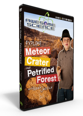 "Awesome Science Ep3 ""Explore Petrified Forest / Meteor Crater"" DVD"