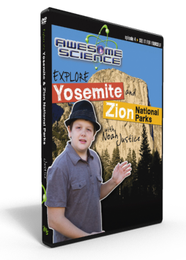 "Awesome Science Ep4 ""Explore Yosemite/Zion"" DVD"