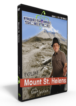 "Awesome Science Ep5 ""Explore Mount St. Helens"" DVD"