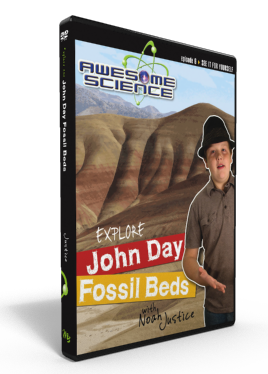 "Awesome Science Ep6 ""Explore John Day Fossil Beds"" DVD"