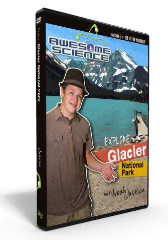 "Awesome Science Ep7 ""Explore Glaicer National Park"" DVD"
