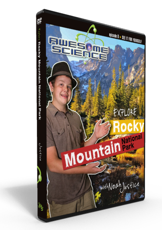 "Awesome Science Ep8 ""Explore Rocky Mountain National Park"" DVD"