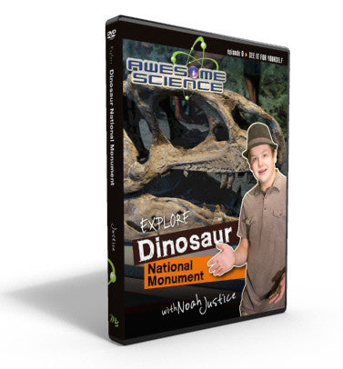"Awesome Science Ep9 ""Explore Dinosaur National Monument"" DVD"