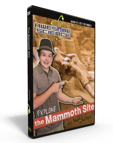 "Awesome Science Ep10 ""Explore The Mammoth Site"" DVD"
