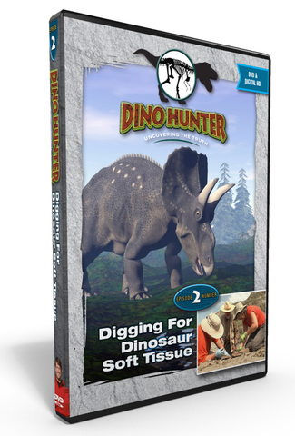 "Dino Hunter ""Digging for Soft Dinosaur Tissue"" Ep2 DVD"
