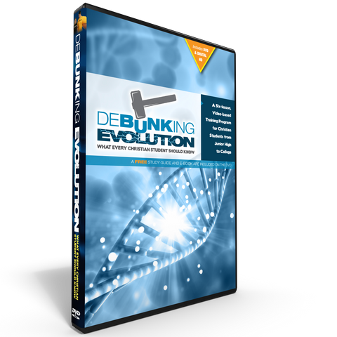 Debunking Evoluiton DVD with Digital HD Copy