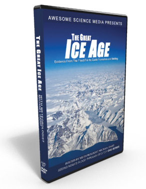 "Flood Geology ""The Great Ice Age"" DVD"
