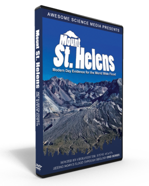 "Flood Geology ""Mount St. Helens"" DVD"