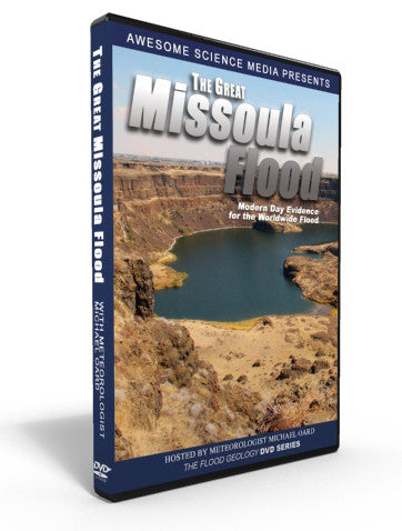 "Flood Geology ""The Great Missoula Flood"" DVD"