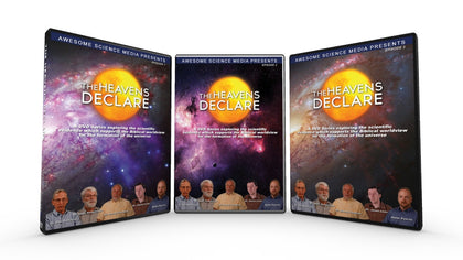 The Heavens Declare 1-3 DVD Set