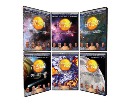 The Heavens Declare 1-6 DVD Set