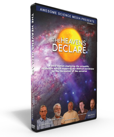 "Heavens Declare ""Origin of the Universe"" DVD"
